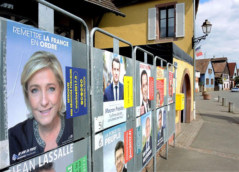 Кандидаты в президенты Франции