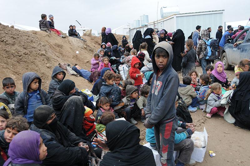 Жители Мосула, Ирак