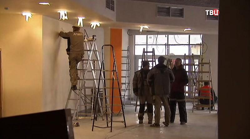 Строительство школы в Москве