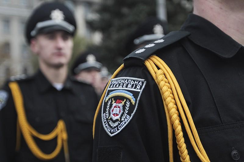 Курсанты академии внутренних дел Украины