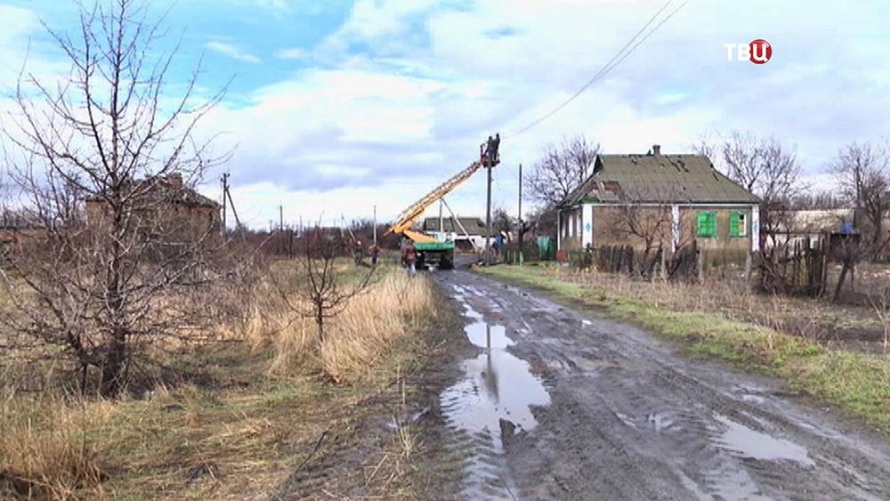 Ремонт энергоснабжения в Луганске