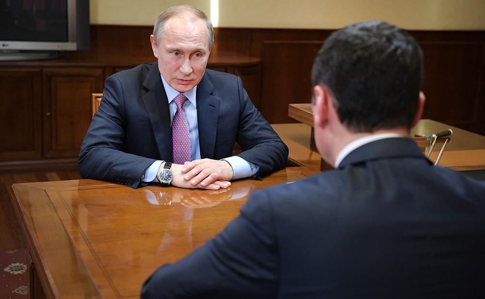 Президент России и временно исполняющим обязанности главы Ярославской области Дмитрий Миронов