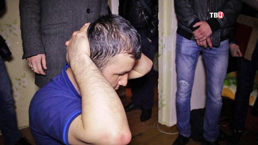 Задержанный по подозрению в вербовке в пользу террористов