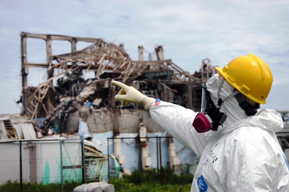 """АЭС """"Фукусима"""" после землетрясения"""