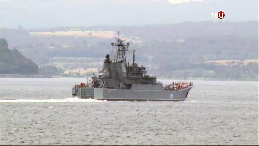 Корабль береговой охраны Турции