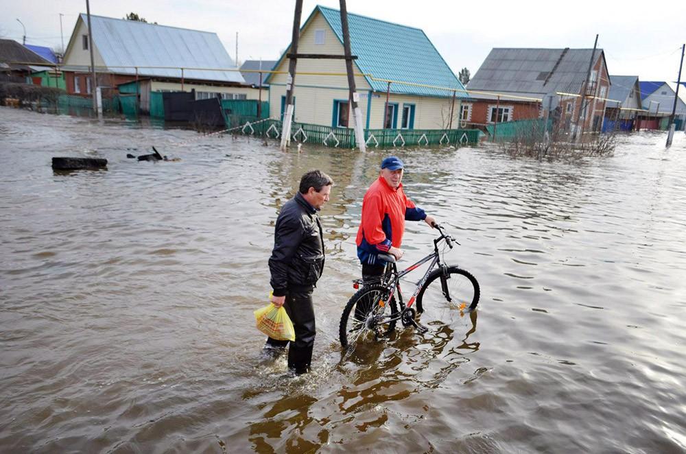 Последствие паводка