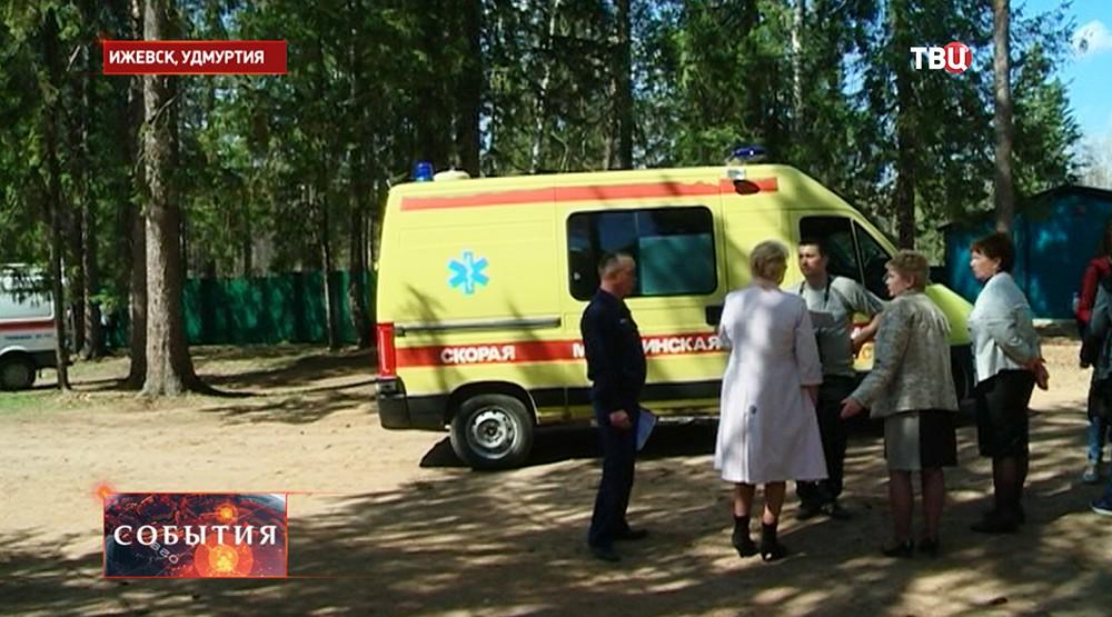 Скорая помощь в детском лагере Ижевска