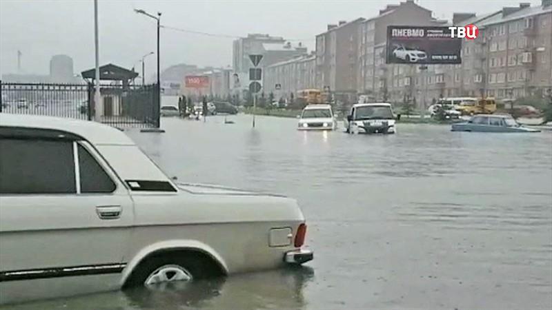 Наводнение в Новосибирской области