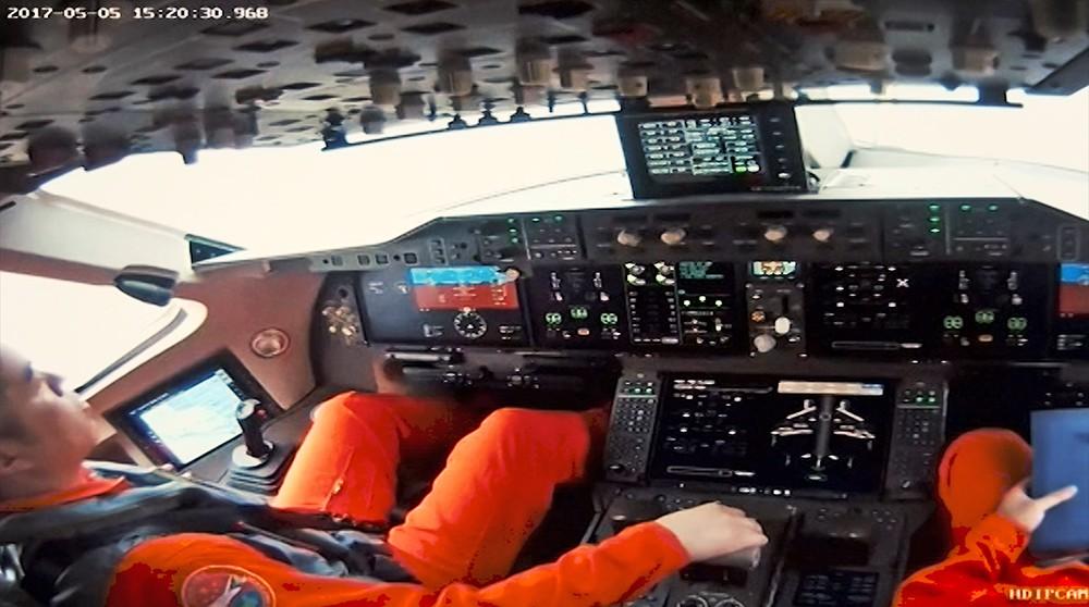 Испытательный полет самолета С919