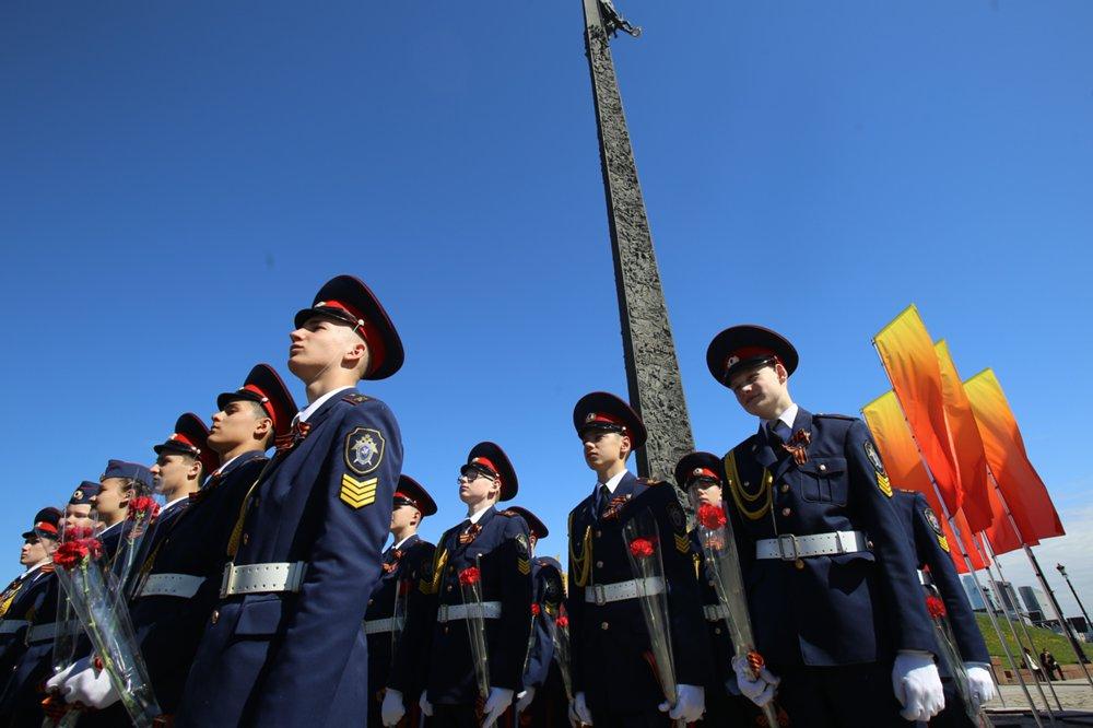 Парад кадетов