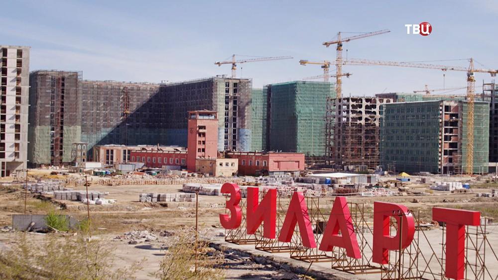 """Ход строительства жилого комплекса арт-класса """"ЗИЛАРТ"""""""