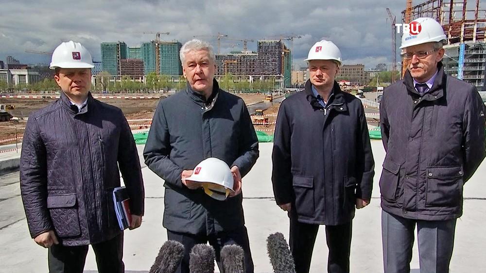 Сергей Собянин отметил развитие городской инфраструктуры на территории ЗИЛа