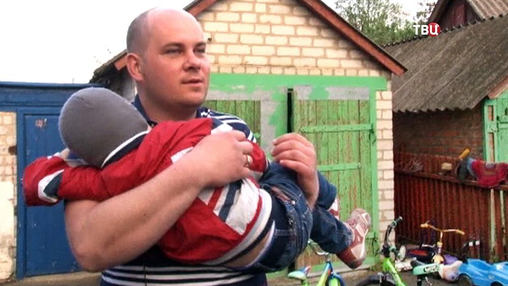 Родители похищенного мальчика