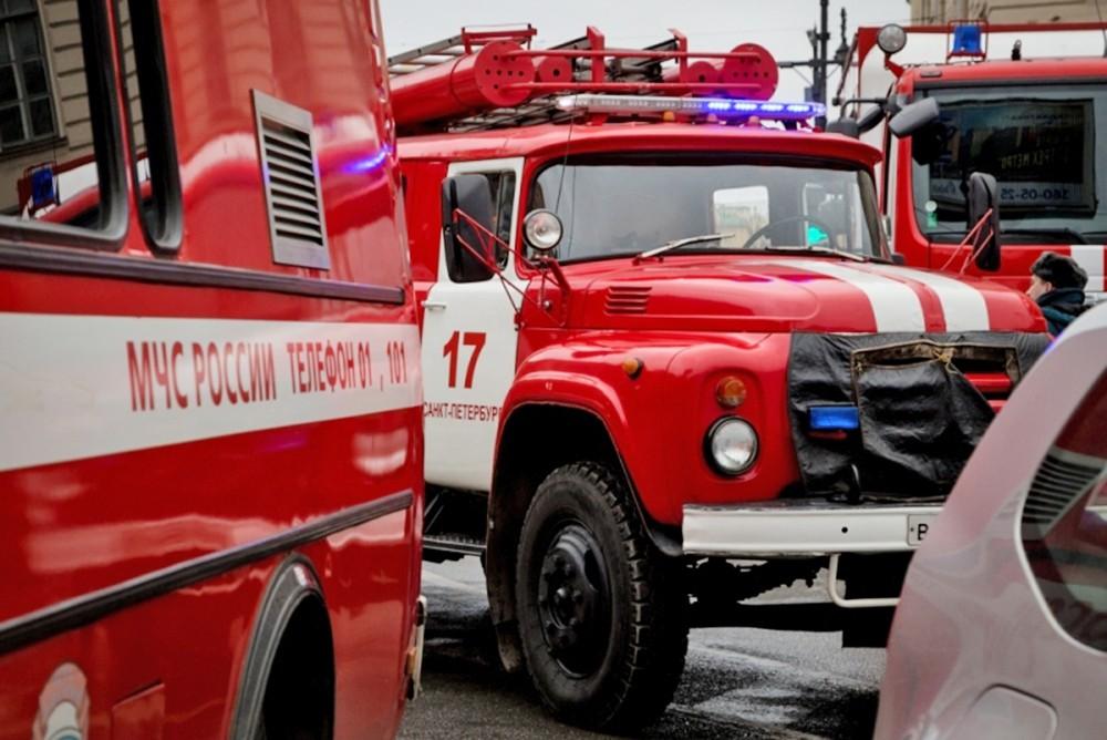 Пожарные машины в Санкт-Петербурге