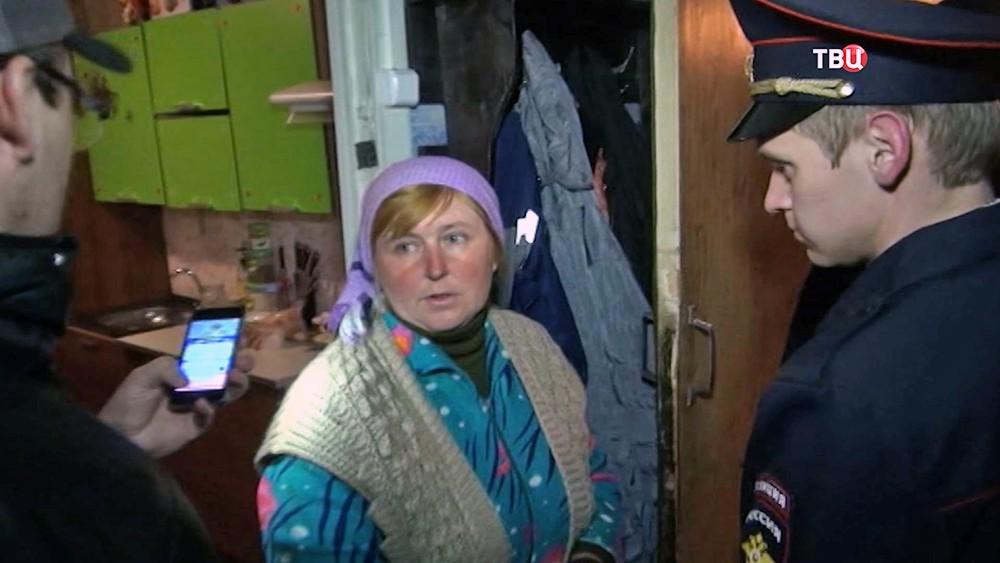 Допрос приемной матери погибшего сына в Волгограде