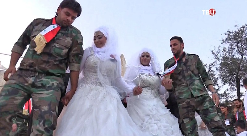 Свадьба в Сирии