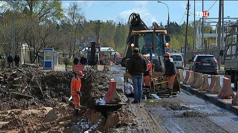 Реставрация шоссе