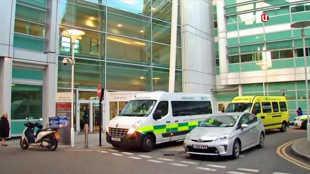 Больница в Великобритании