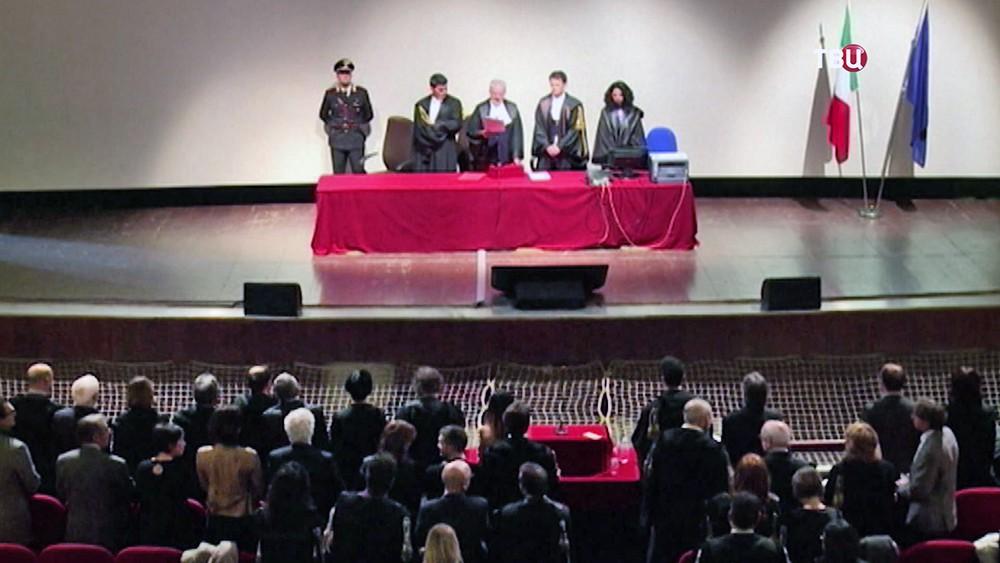 Суд над капитаном Costa Concordia Франческо Скеттино
