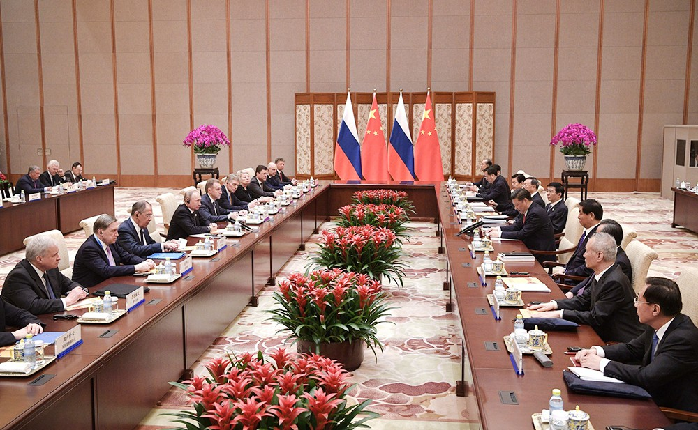 Российско-китайские переговоры