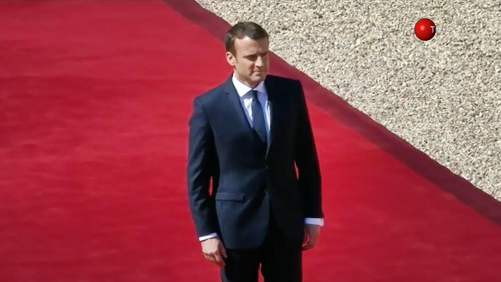 Президент Франции Эмманюэль Макрон
