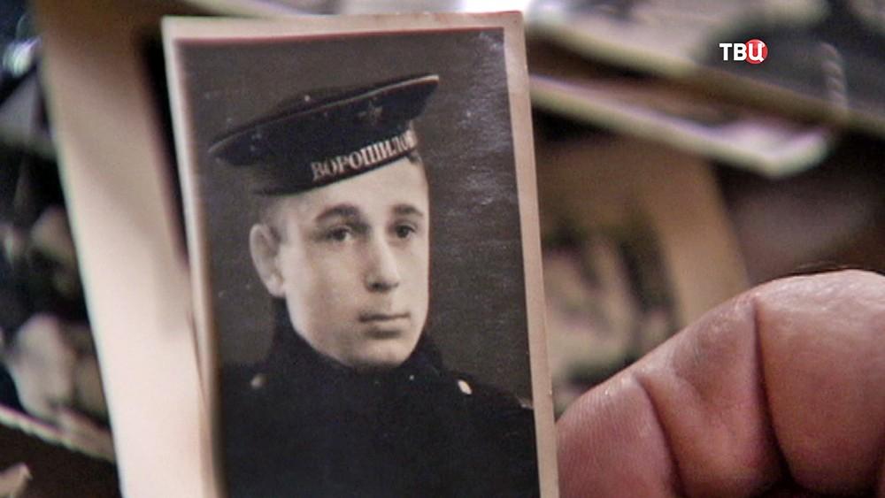 Фото ветерана Юрия Князева времен войны