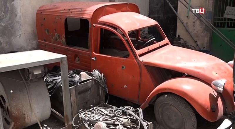 Коллекция ретроавтомобилей в Сирии