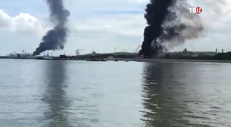 Взрыв в Колумбии