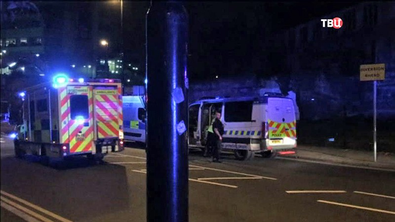 Взрыв в Манчестере