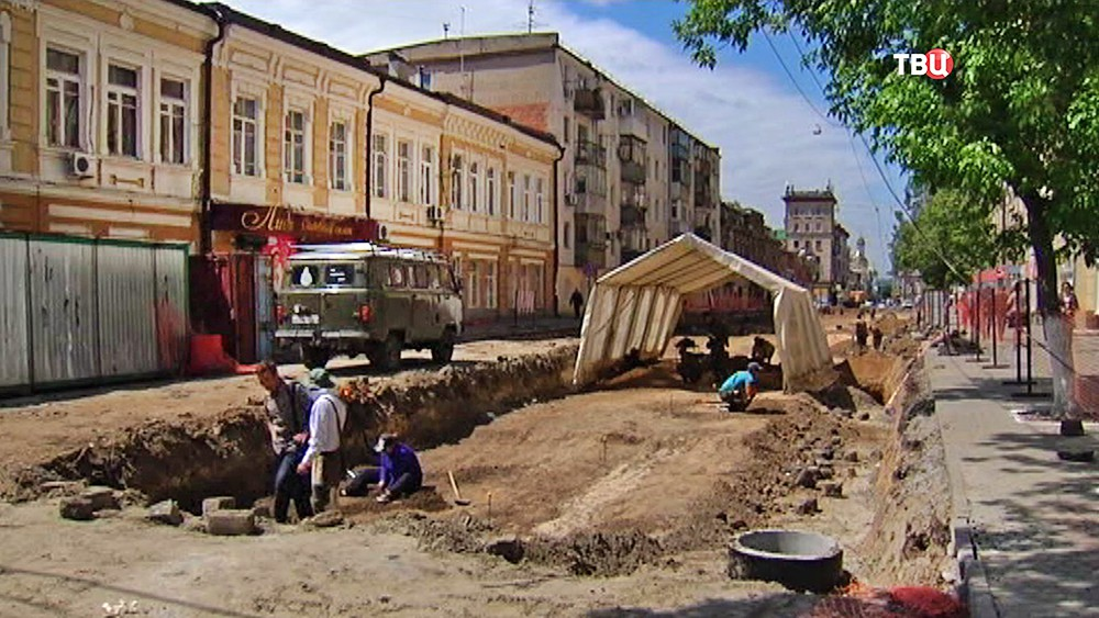 Археологические раскопки в Ростове-на-Дону