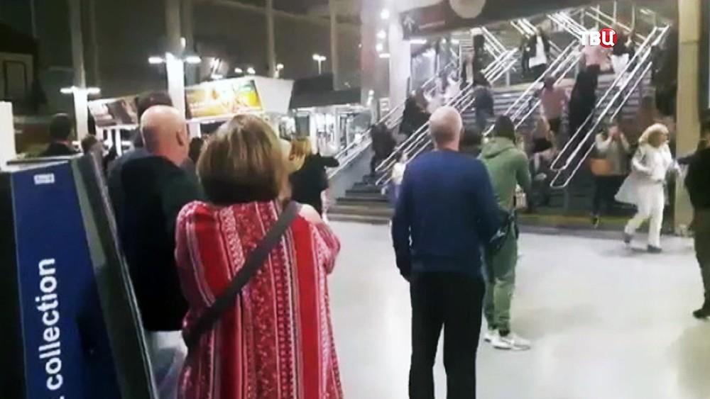 Взрыв на стадионе в Манчестере