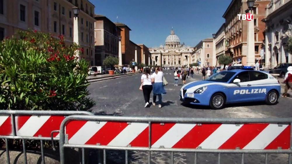 Полиция в Ватикане