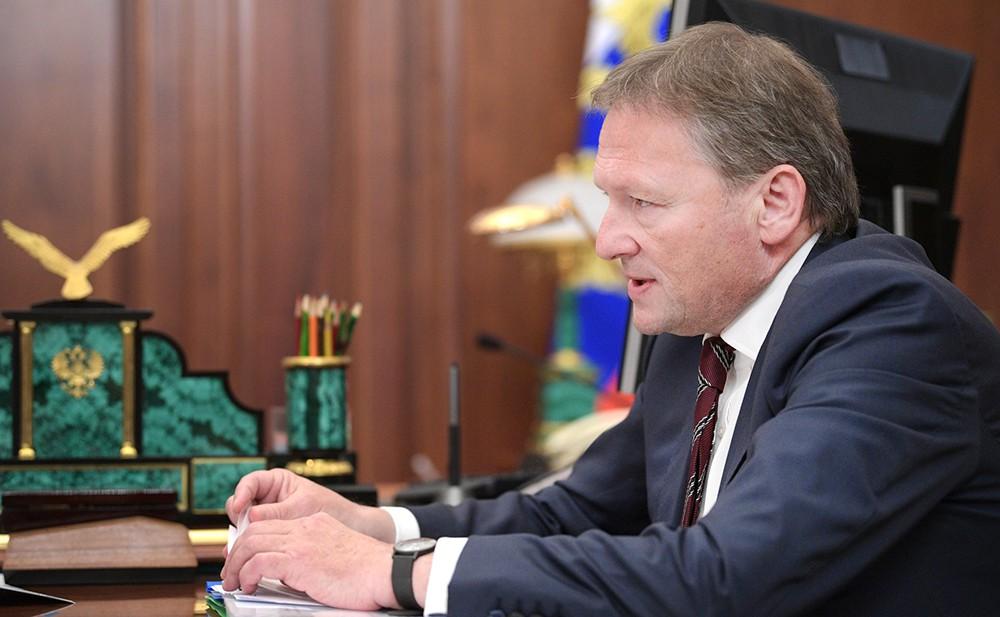 Уполномоченный по защите прав предпринимателей Борис Титов