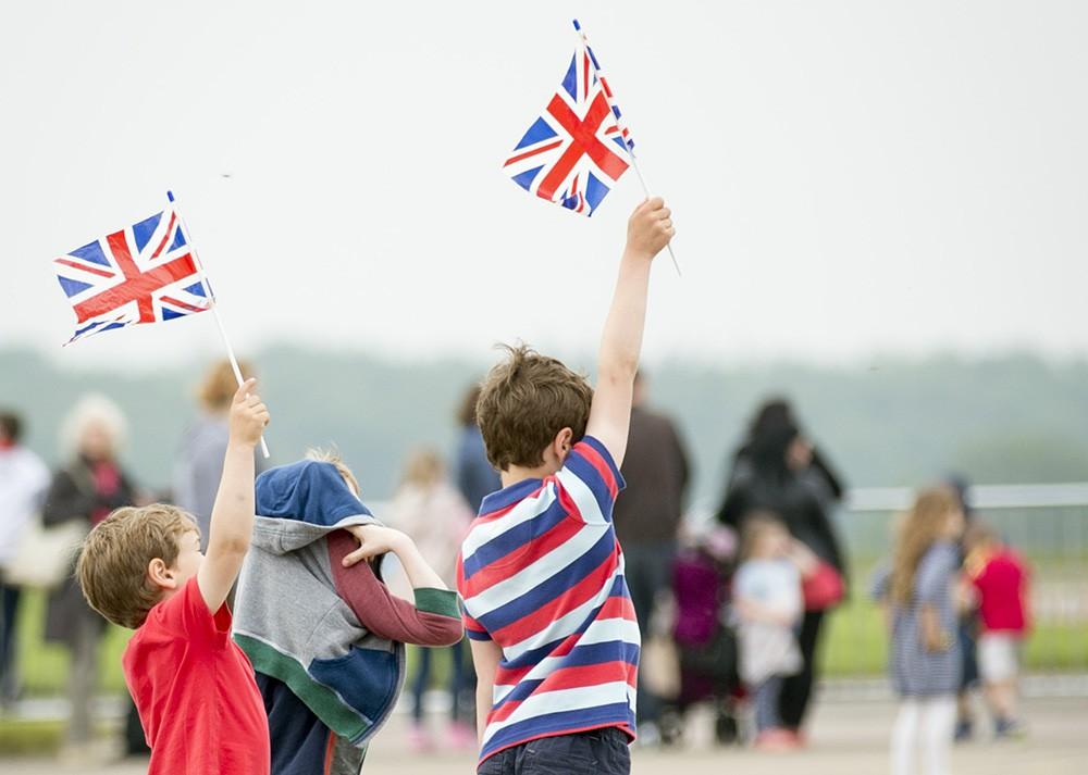 Жители Великобритании