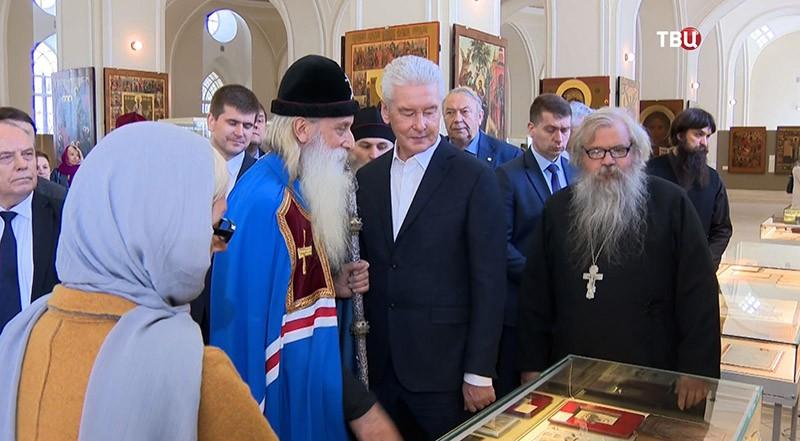 Сергей Собянин в Рогожской слободе