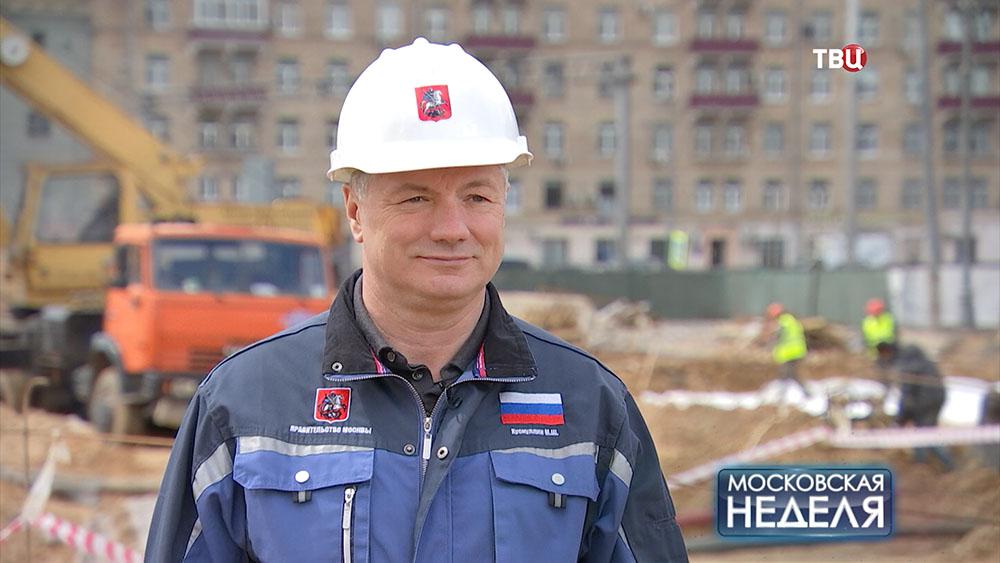 Заместитель мэра столицы по градостроительной политике и строительству Марат Хуснуллин