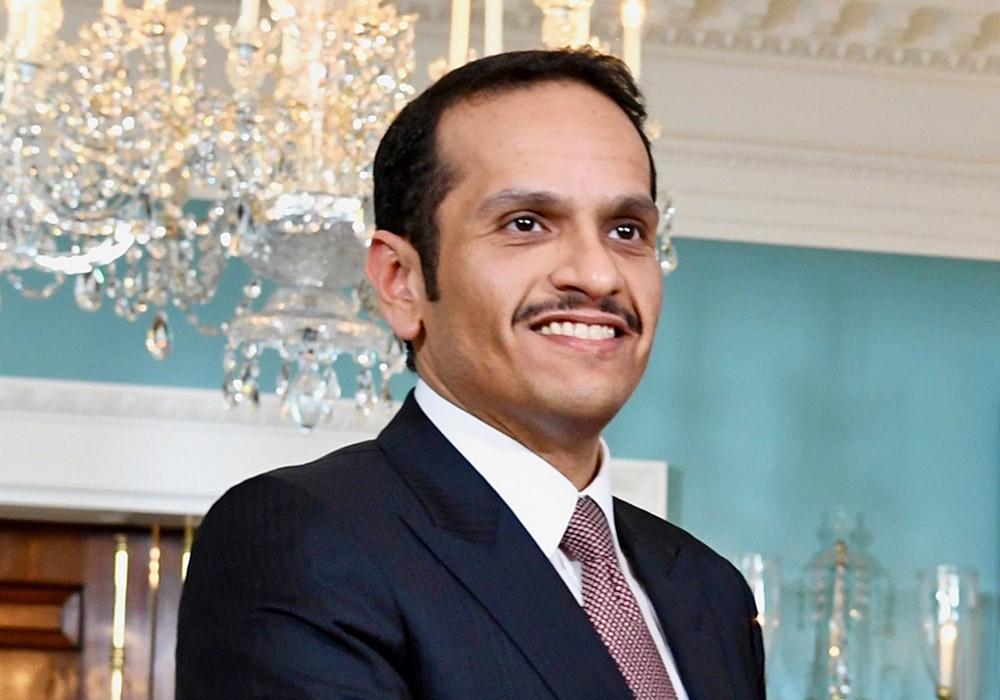 Министр иностранных дел Катара Мухаммед Рахман Аль Тани