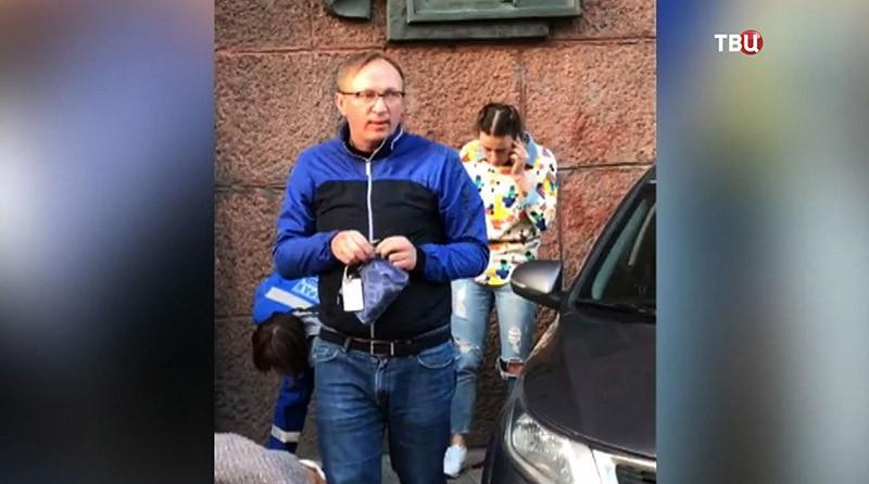 Водитель сбивший девушку в Москве