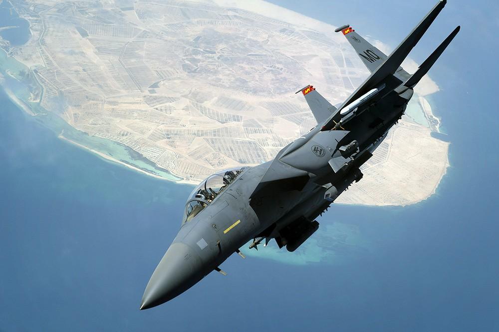 Истребитель F-15E ВВС США
