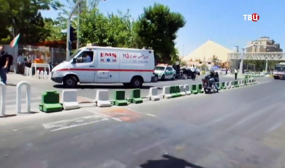 Скорая помощь Ирана