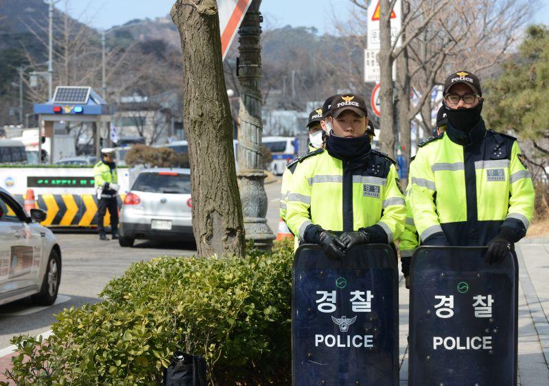 Полиция Южной Кореи