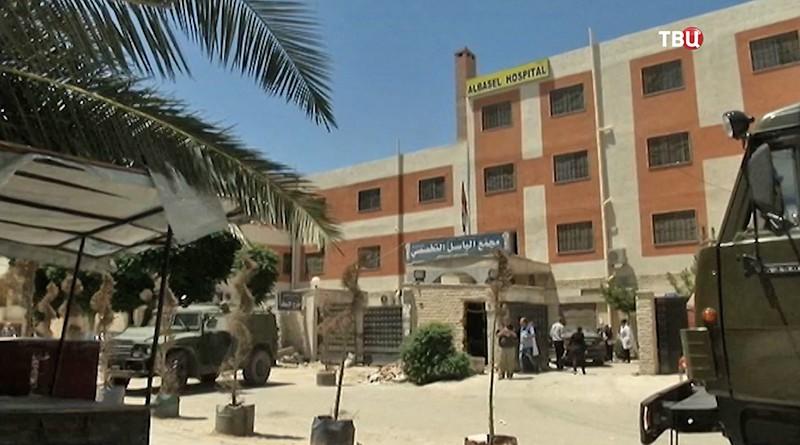 Больница в Сирии