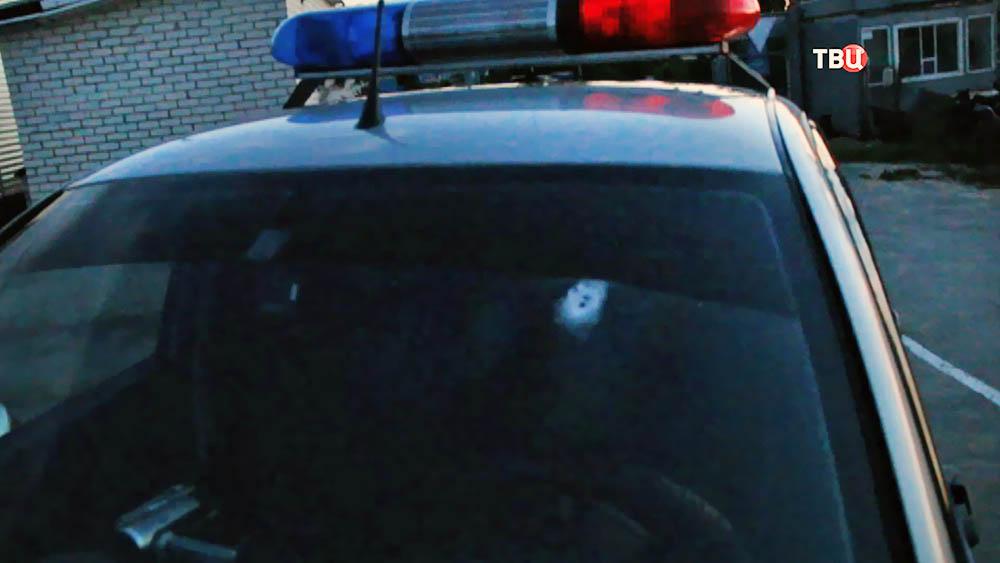 Последствия перестрелки полиции с преступниками