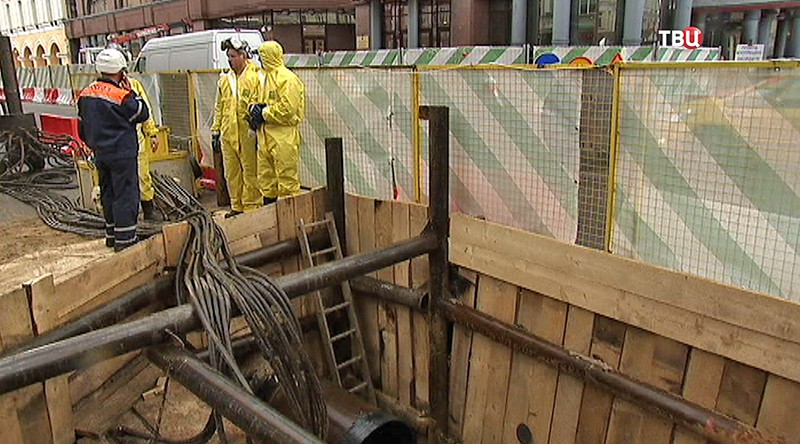 Ремонт газопровода в Москве