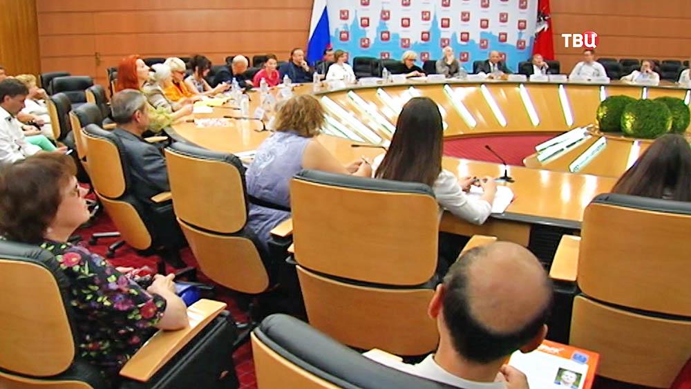 Пресс-центр правительства Москвы