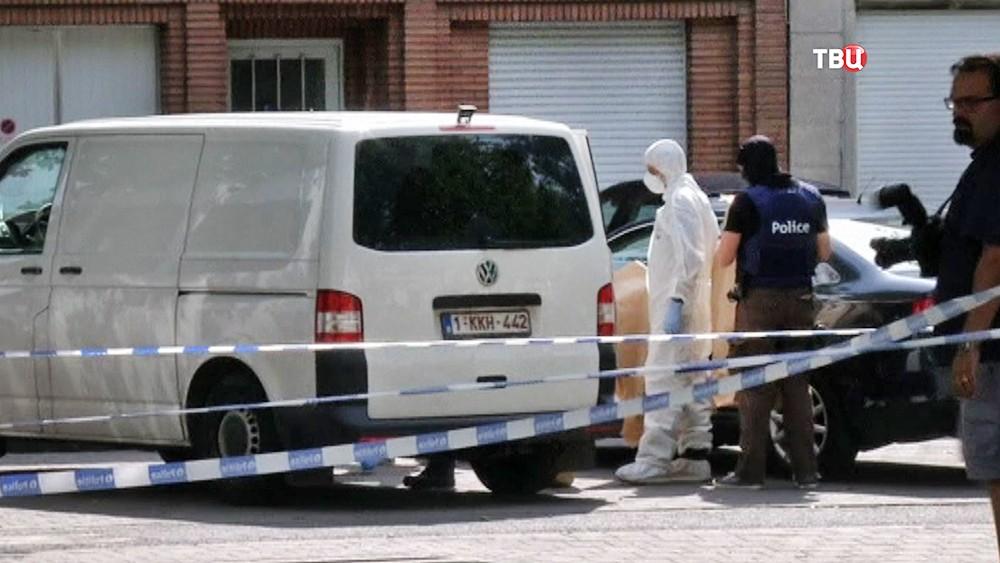 Криминалисты полиции Брюсселя