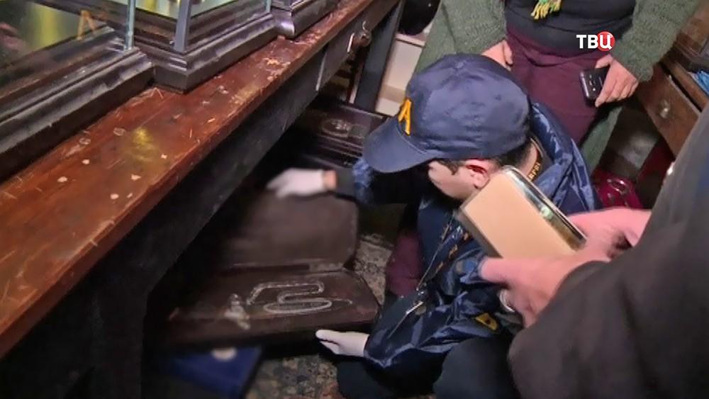 В Чили обнаружили тайную комнату Третьего Рейха