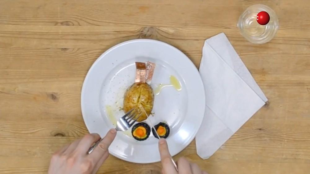 Поедание картофельной машинки