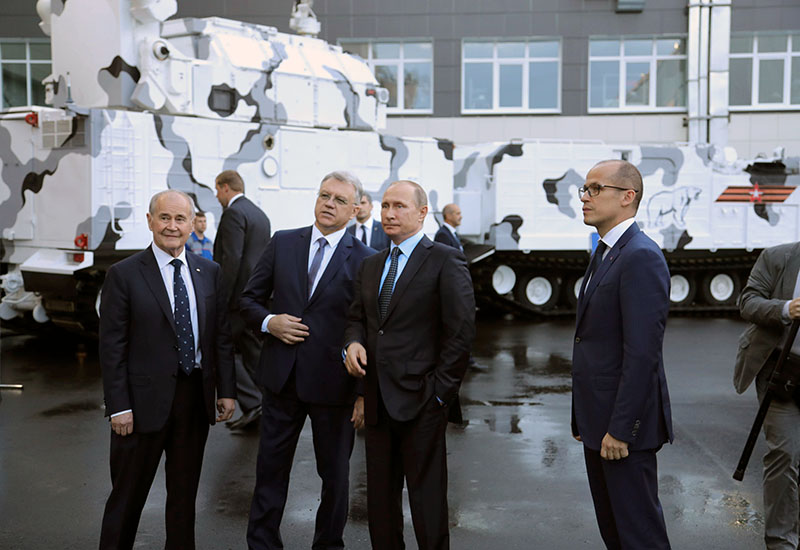 Рабочая поездка Владимира Путина в Ижевск