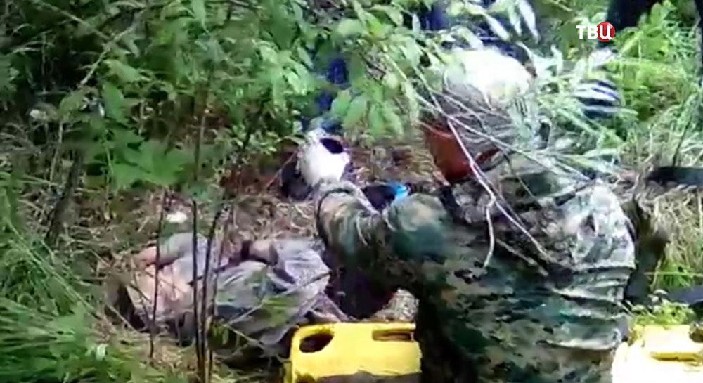 Поиски пропавшей женщины в Иркутской области